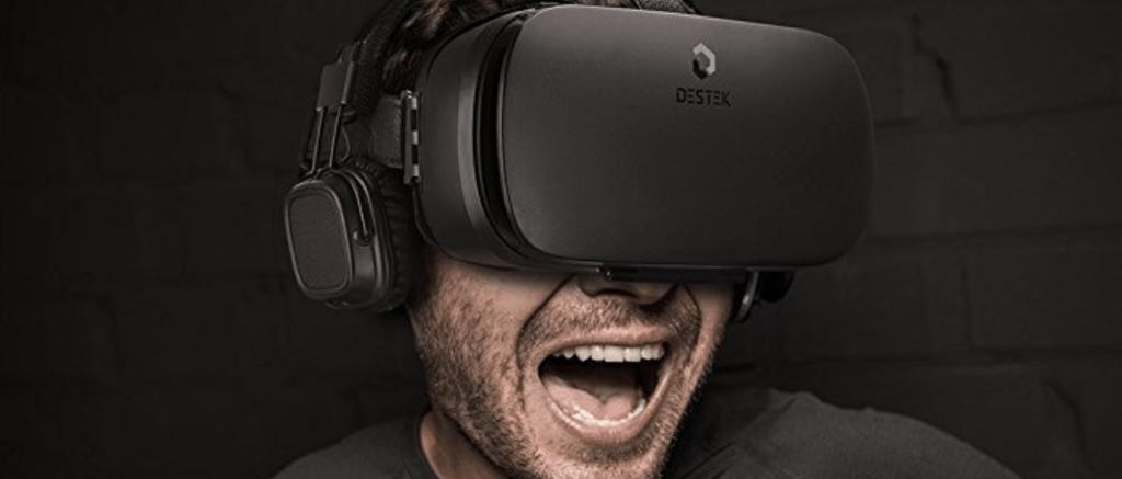 Virtual reality video at 360 degrees