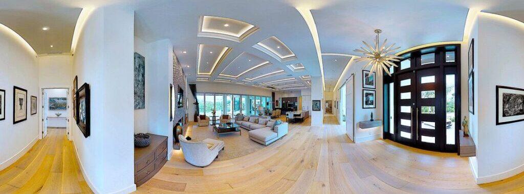 Virtual tour of villas