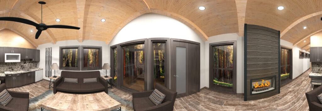 3D panorama of the house