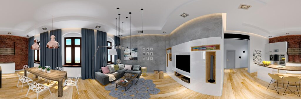 3D shooting of apartment