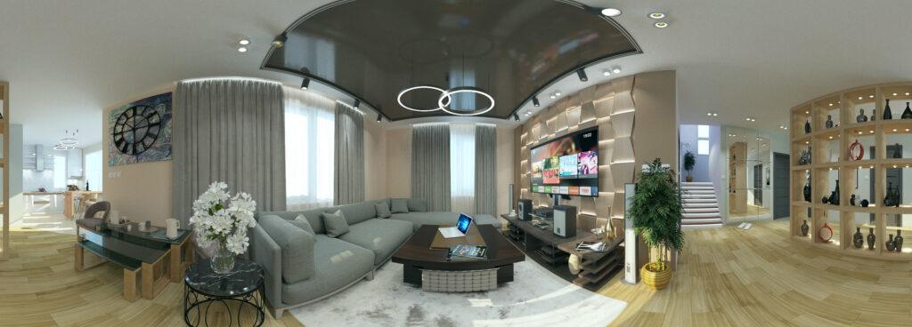 3D panoramic shooting