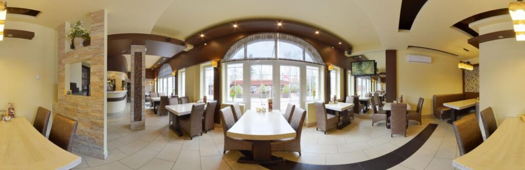 3D panoramas of premises