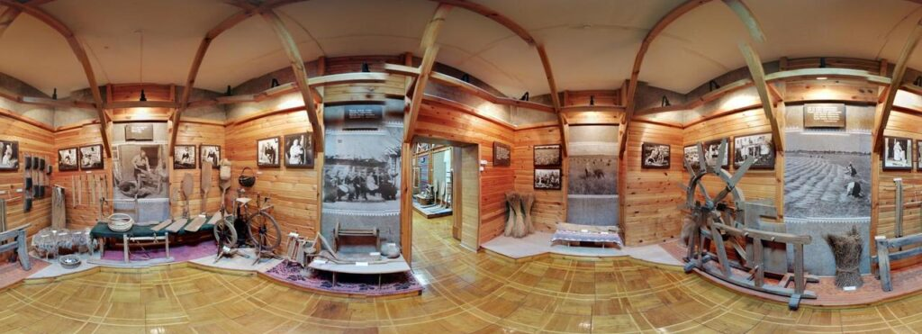 3D tour of the museum