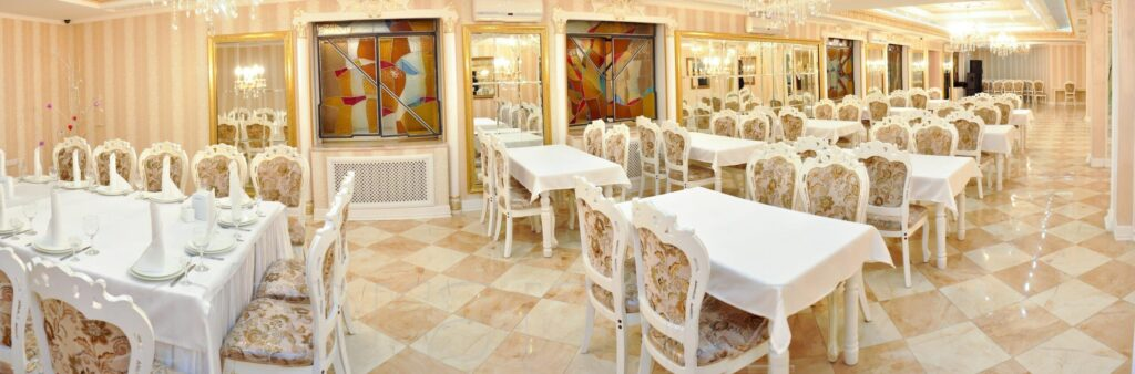 3D tour of the restaurant