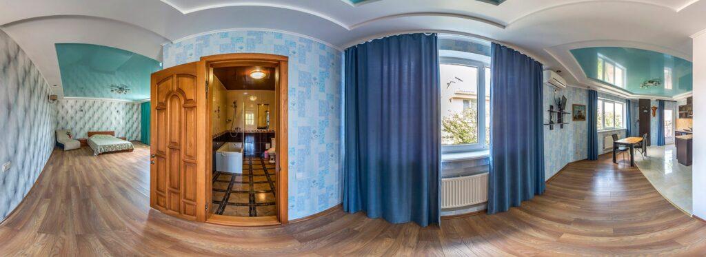 3D panoramas of apartment