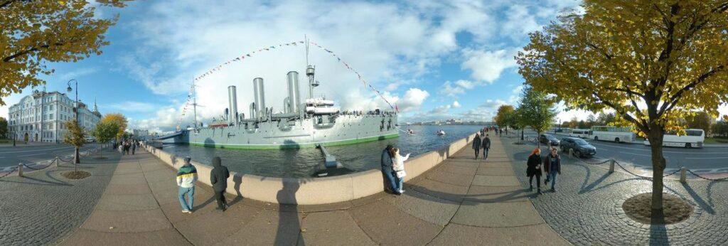 3D virtual panorama