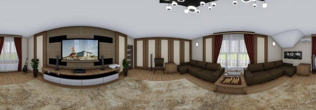Making of 3D panoramas