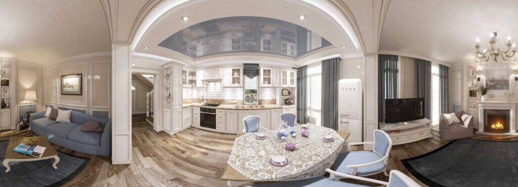 Making of virtual tours and 3D panoramas