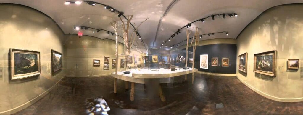 360 degrees video for the museum