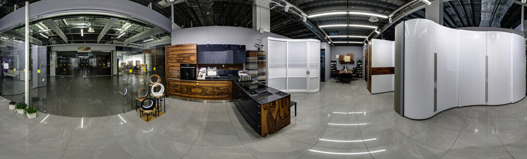 Virtual tour of objects