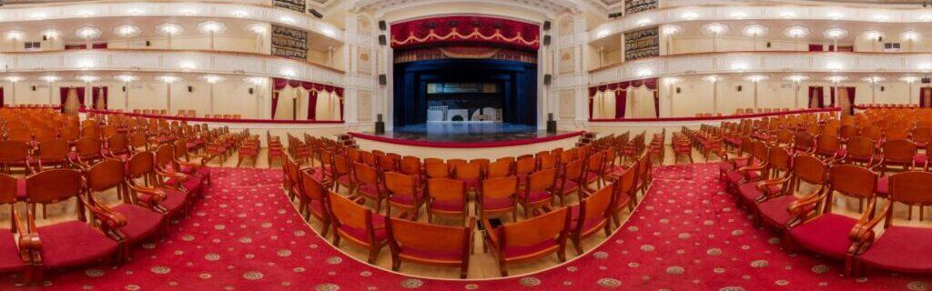 Virtual tour of the hall