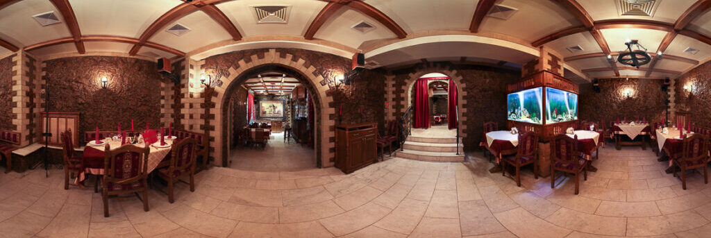 Virtual tour of the restaurant