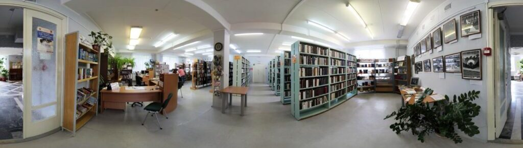 Virtual tour for the library